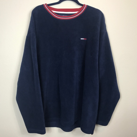 073f6a70b Tommy Hilfiger Sweaters | Vintage Tommy Jeans Mens Womens Xl Navy ...